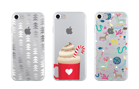 coques de noel pour iPhone de la Season Collection de Bigben Collection