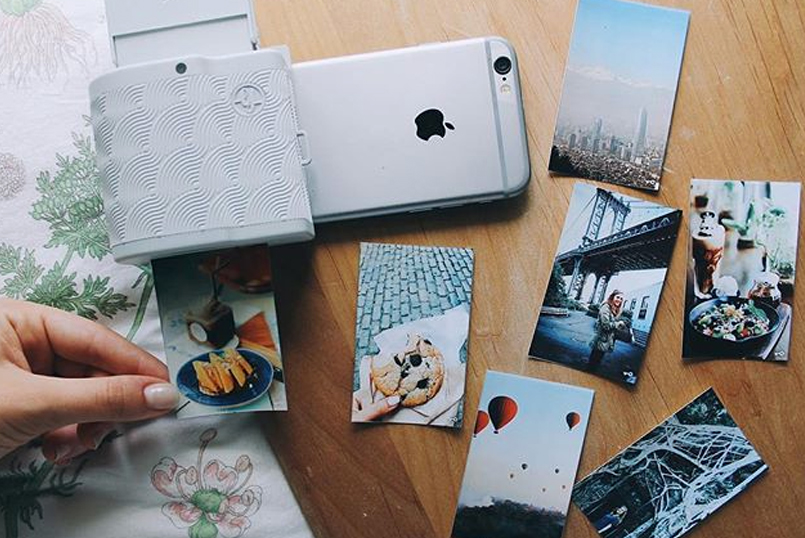 Imprimante Prynt pour iPhone, et papier photo