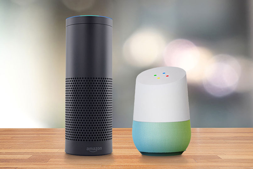 google home vs amazone