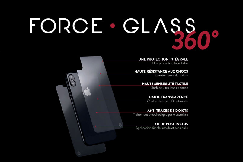 force glass iphone X
