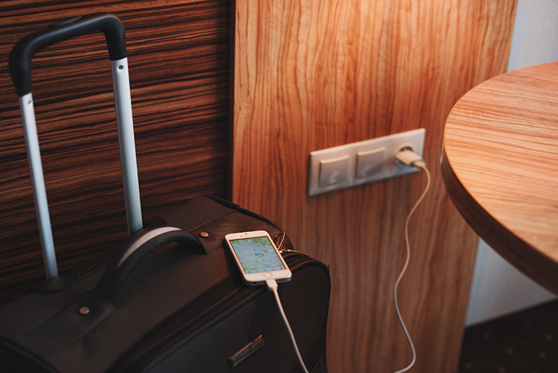 Chargeur smartphone inconnu